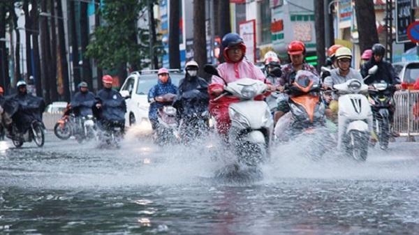 Chiều tối và đêm nay vẫn có mưa rào xảy ra ở hầu khắp các vùng trên cả nước.