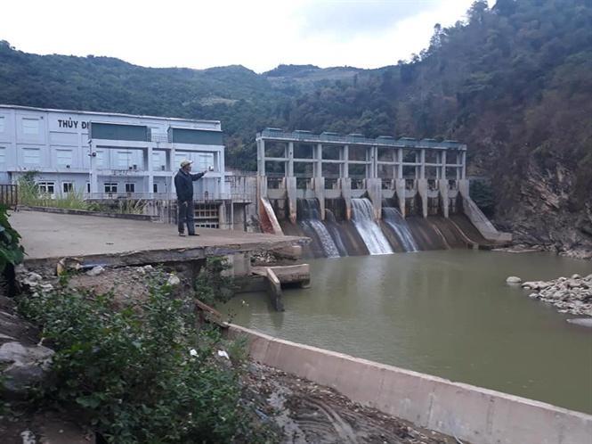 Nhà máy thủy điện Nậm Mô.