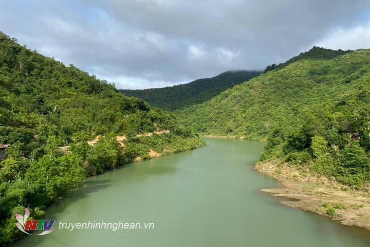 Năm 2020, lượng mưa trên lưu vực sông Cả giảm sâu