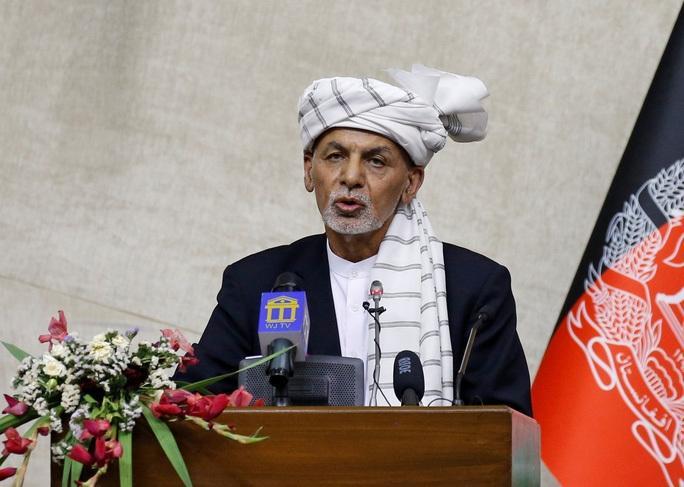 Tổng thống Afghanistan Ashraf Ghani. (Ảnh: Reuters)