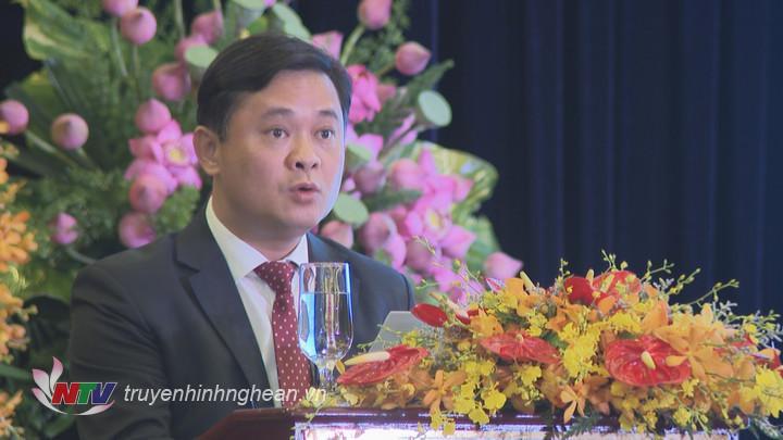 Chủ tịch UBND tỉnh Thái Thanh Quý phát biểu khai mạc hội nghị.