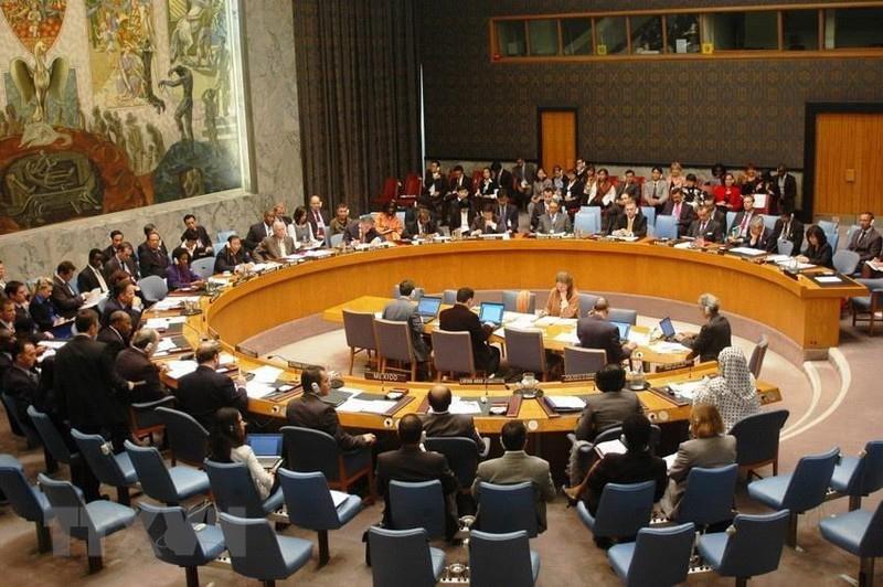 Ngày 5/10/2009, tại trụ sở Liên hợp quốc ở New York (Mỹ), Phó Thủ tướng, Bộ trưởng Ngoại giao Phạm Gia Khiêm chủ trì phiên thảo luận mở của Hội đồng Bảo an Liên hợp quốc. (Ảnh: Nguyễn Đình Thư/TTXVN)