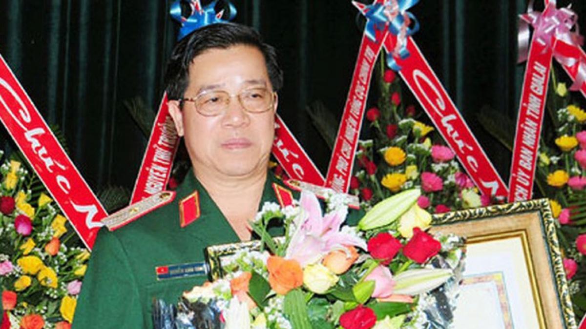Thiếu tướng Nguyễn Xuân Sang - nguyên Tư lệnh Binh đoàn 15.