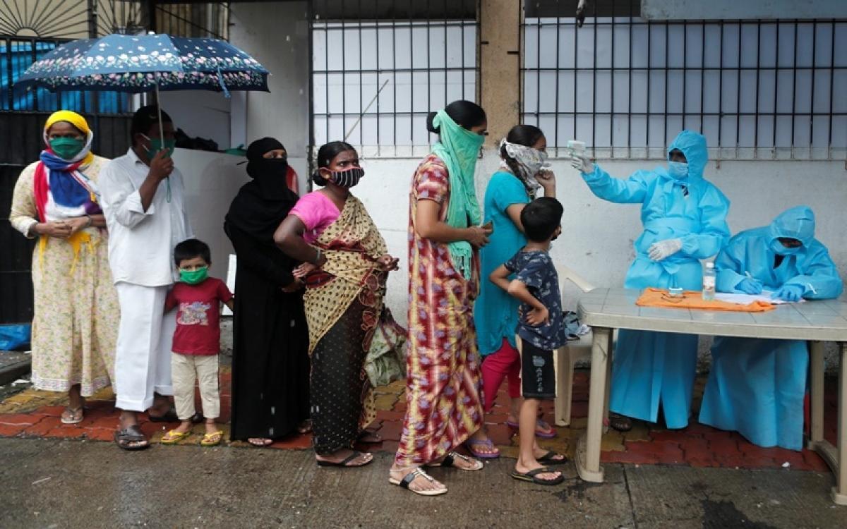 Số ca mắc Covid-19 mới hàng ngày ở Ấn Độ đang cao nhất trên thế giới. Ảnh: Reuters