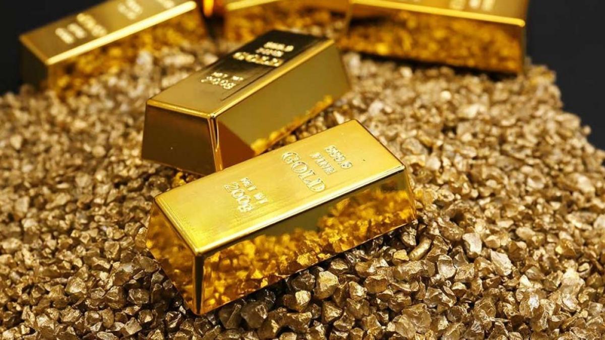 Giá vàng tăng nhẹ trong phiên giao dịch đầu tuần. (Ảnh minh họa: KT)