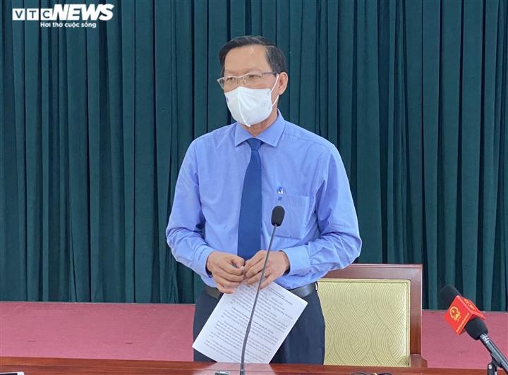 Ông Phan Văn Mãi, Chủ tịch UBND TP.HCM.