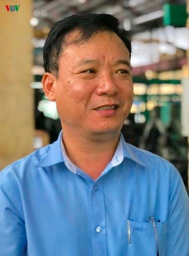 Ông Phạm Xuân Phi, Tổng Giám đốc Công ty cổ phần Công nghiệp ô tô Vinacomin.
