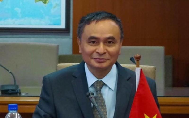 PGS-TS Vũ Thanh Ca - chuyên gia nghiên cứu Biển Đông thuộc Trường Đại học Tài nguyên và Môi trường Hà Nội.