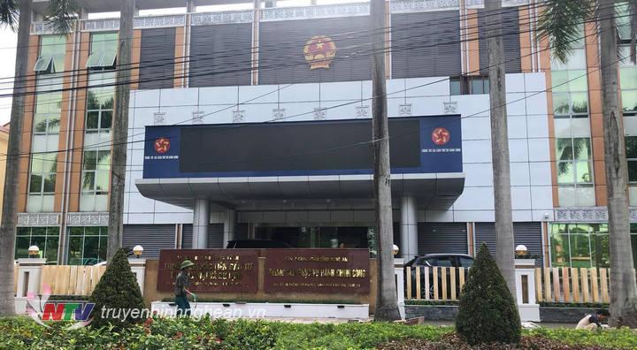 Trung tâm Phục vụ hành chính công tỉnh Nghệ An đặt tại Số 16 – đường Trường Thi – TP. Vinh (đối diện khu vực Quảng trường Hồ Chí Minh).