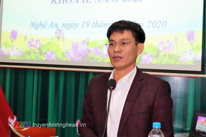 Đồng chí Chu Bá Long – Phó Bí thư Đảng ủy Khối dự chỉ đạo lớp học.
