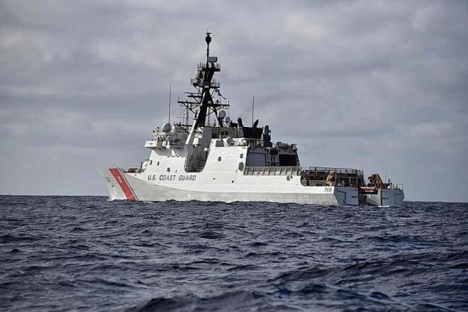 Cố vấn An ninh quốc gia Robert O'Brien cho biết, Mỹ triển khai tàu tuần duyên ở Thái Bình Dương để đáp trả Trung Quốc. (Ảnh: Stripes)