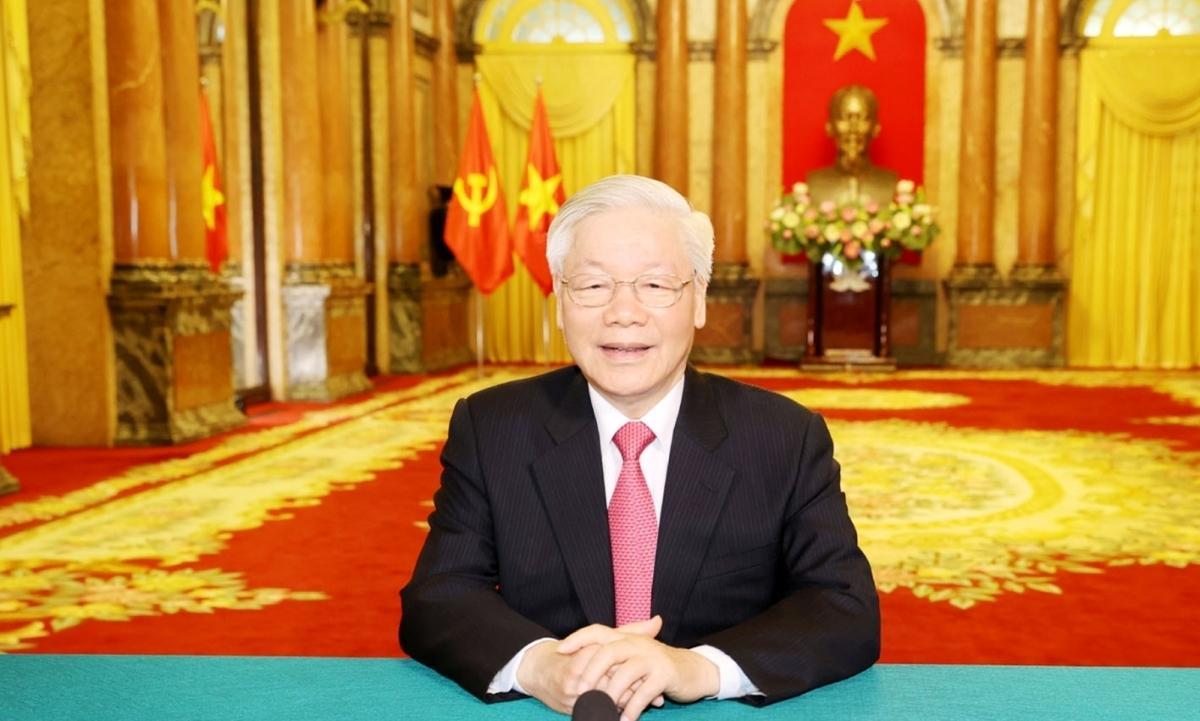 Tổng Bí thư, Chủ tịch nước Nguyễn Phú Trọng gửi thông điệp tới Đại hội đồng Liên Hợp Quốc.