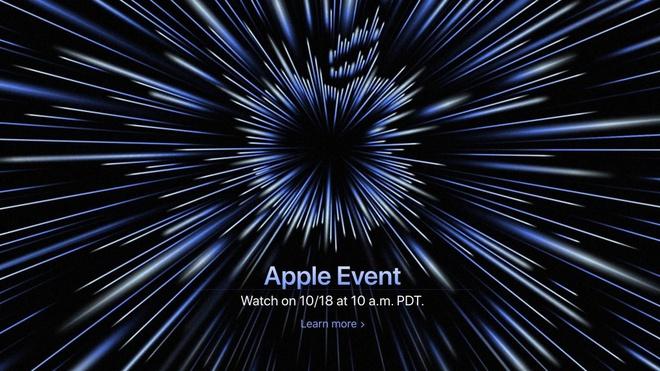 Thư mời sự kiện tháng 10 của Apple. Ảnh: Apple.