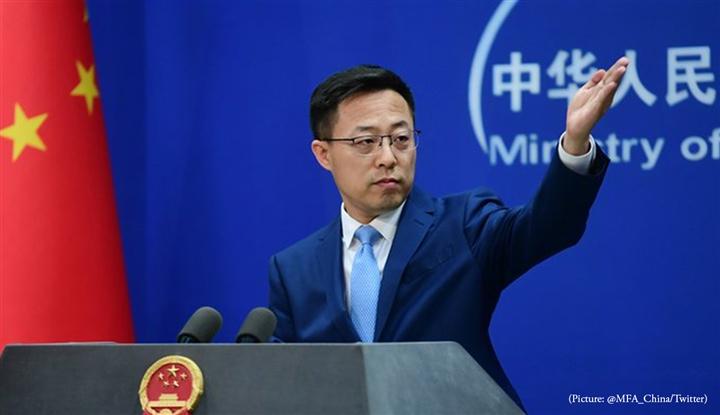 Phát ngôn viên Bộ Ngoại giao Trung Quốc Triệu Lập Kiên. (Ảnh: Bộ Ngoại giao Trung Quốc)