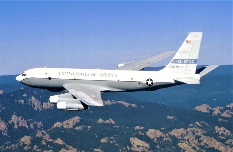 Máy bay Boeing OC-135B của Mỹ phục vụ OS. Nguồn: wikipedia.org
