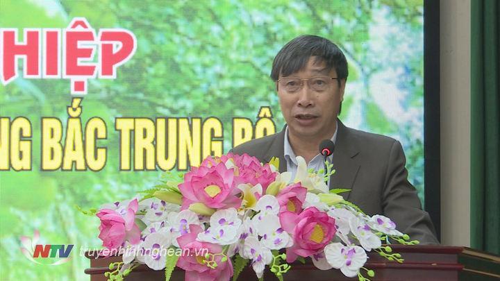 Lãnh đạo sở NN&PTNT phát biểu tại hội nghị.