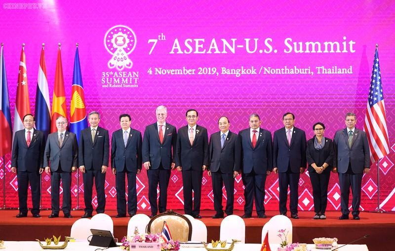 Thủ tướng Nguyễn Xuân Phúc và các nhà lãnh đạo ASEAN dự Hội nghị ASEAN - Hoa Kỳ lần thứ 7.
