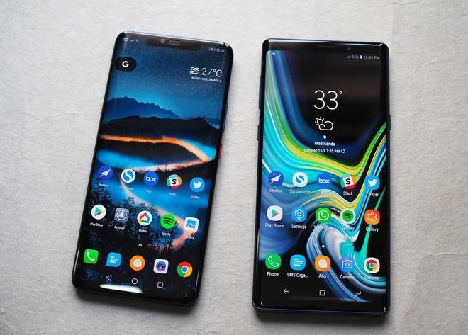 Galaxy Note9 qua sử dụng đang được chào bán với giá dưới 8 triệu đồng. Ảnh: Android Central.
