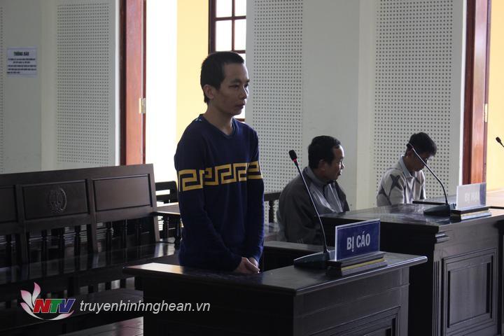 Bị cáo Lộc Văn Dương tại tòa.