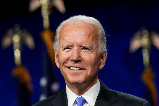 Nếu thắng Pennsylvania, ông Biden sẽ vượt qua ngưỡng 270 phiếu và giành chiến thắng cuộc bầu cử Tổng thống. (Ảnh: AP)