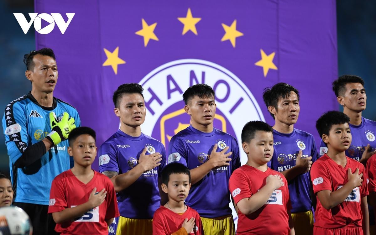 Hà Nội FC buộc phải giành chiến thắng ở vòng 6 giai đoạn II V-League 2020 (Ảnh: Dương Thuật).
