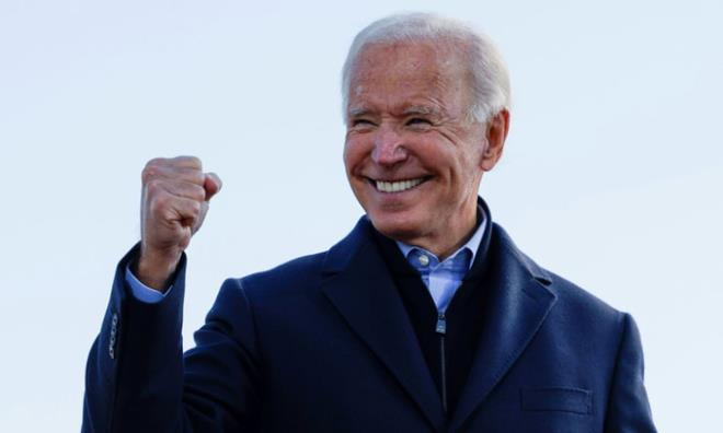 Ông Joe Biden đắc cử Tổng thống Mỹ thứ 46.