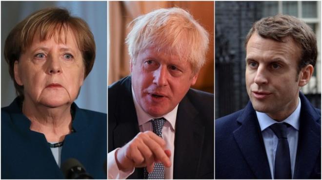 Ông Biden đã có cuộc điện đàm lần đầu với lãnh đạo Anh, Pháp, Đức. (Ảnh: PA)