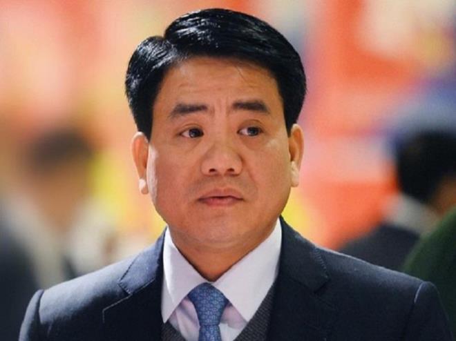Nguyên Chủ tịch UBND TP Hà Nội Nguyễn Đức Chung.
