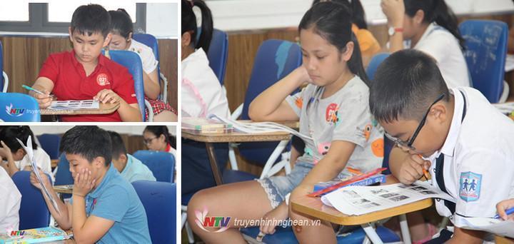 Các thí sinh tham gia vòng thi sơ loại