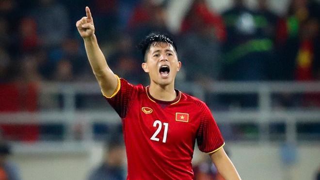 Đình Trọng trở lại sẽ giúp ích rất nhiều cho HLV Park Hang Seo.