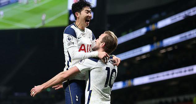 Son Heung-min và Harry Kane đang là đầu tàu ở Tottenham.