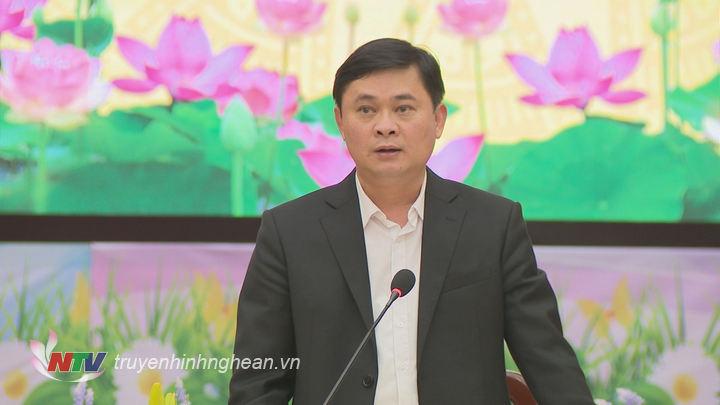 Chủ tịch UBND tỉnh Thái Thanh Quý đề nghị trong năm 2019 các cơ quan báo chí tiếp tục đồng hành, cộng sự phản ánh đầy đủ trên tinh thần xây dựng và chia sẻ.