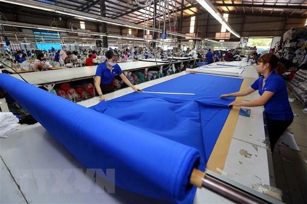 CPTPP được kỳ vọng sẽ tạo cú hích cho nhiều ngành hàng của Việt Nam, trong đó có ngành dệt may. (Ảnh: Danh Lam/TTXVN)