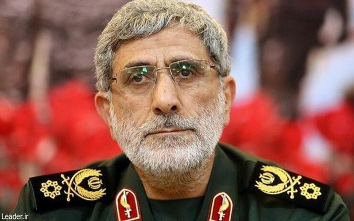Tướng Esmail Ghaani vừa được bổ nhiệm làm người đứng đầu lực lượng Quds của Iran vào hôm 3/1.