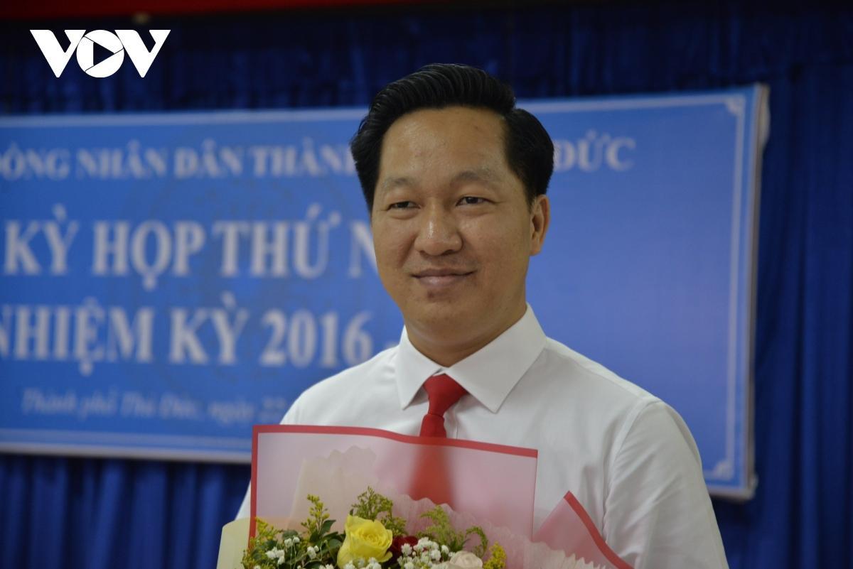 Ông Hoàng Tùng giữ chức vụ Chủ tịch UBND thành phố Thủ Đức.