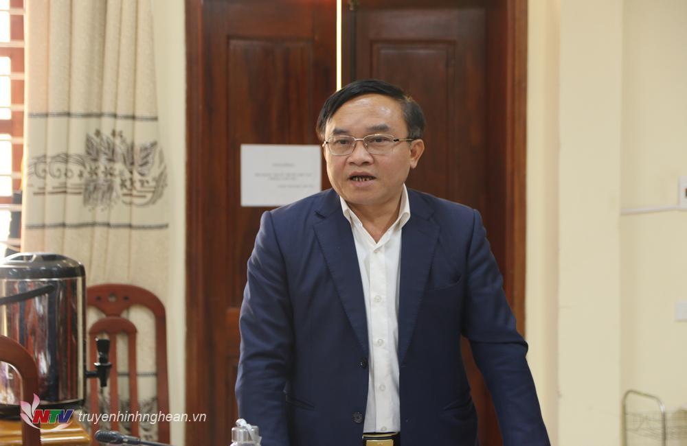 Trưởng ban Dân vận Tỉnh ủy Ngọc Kim Nam phát biểu chỉ đạo hội nghị.