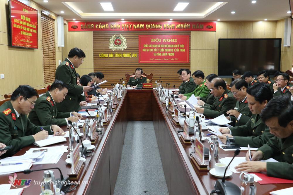 Thiếu tướng Võ Trọng Hải - Giám đốc Công an tỉnh Nghệ An