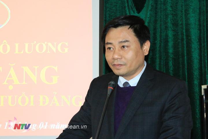 Trưởng ban Nội chính Tỉnh ủy Hồ Khắc