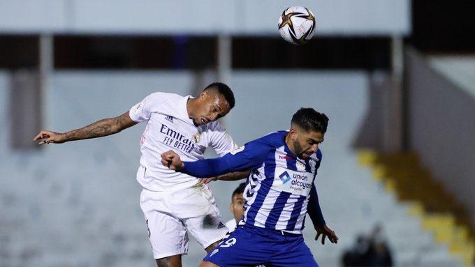 Militao đã ghi bàn mở tỷ số ở trận Real gặp Alcoyano