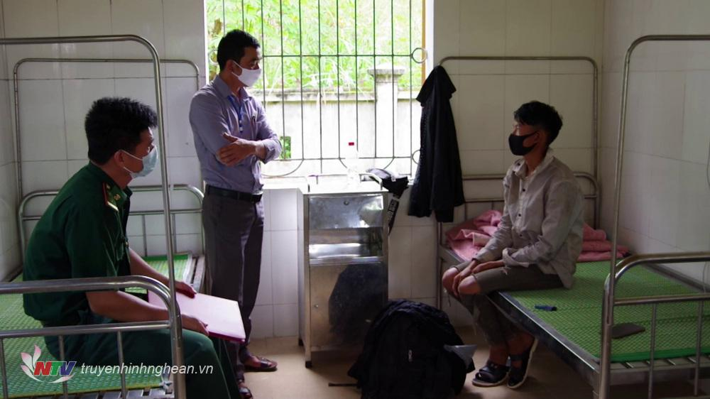 Công tác quản lý người nhập cảnh được lực lượng Biên Phòng Nghệ An triệt khai trong thời gian qua (ảnh tư liệu)