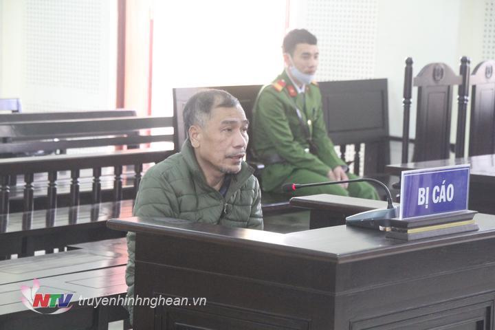 Bị cáo Chu Văn Sáng tại tòa.