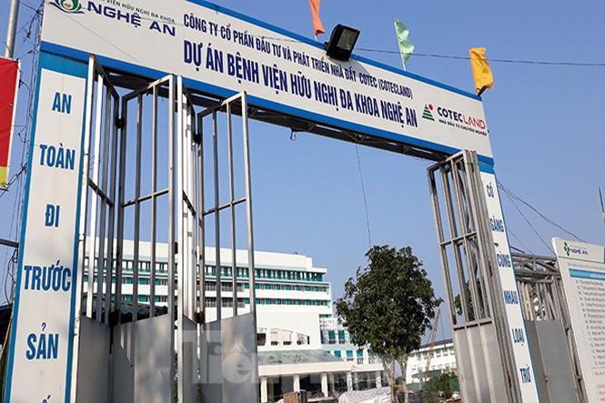 Dự án Bệnh viện Hữu nghị Đa khoa Nghệ An - Giai đoạn 2.
