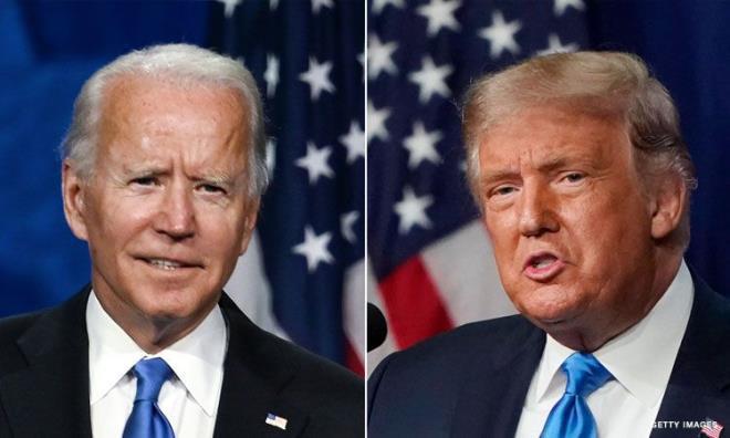 Tân Tổng thống Mỹ Joe Biden nói ông Trump để lại bức thư rất tử tế. (Ảnh: Getty)