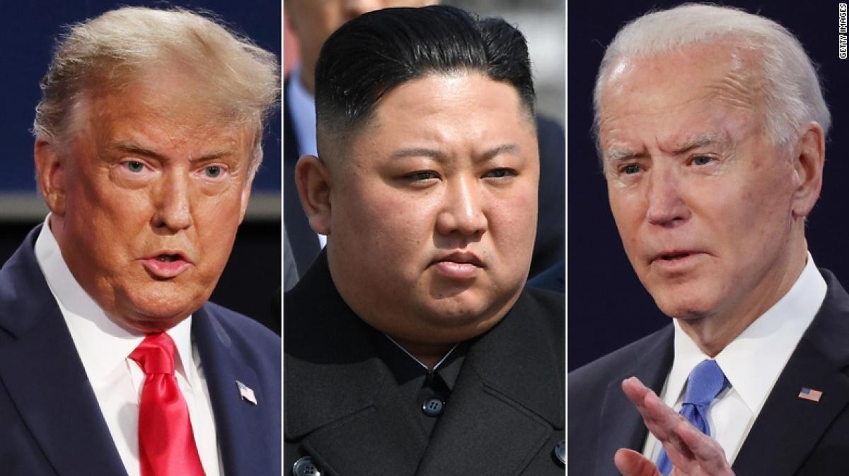 """Dù Trump hay Biden thành Tổng thống, Triều Tiên vẫn là """"cơn đau đầu"""" của nước Mỹ. Ảnh: CNN"""