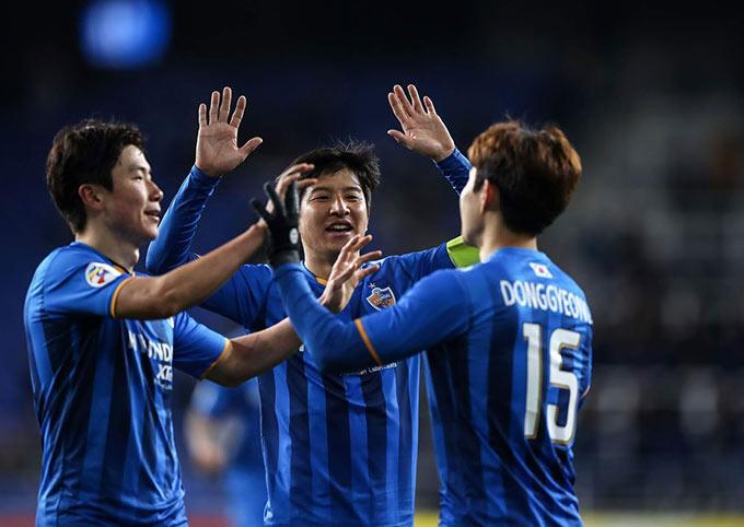 Ulsan Hyundai đang rất mạnh ở châu Á