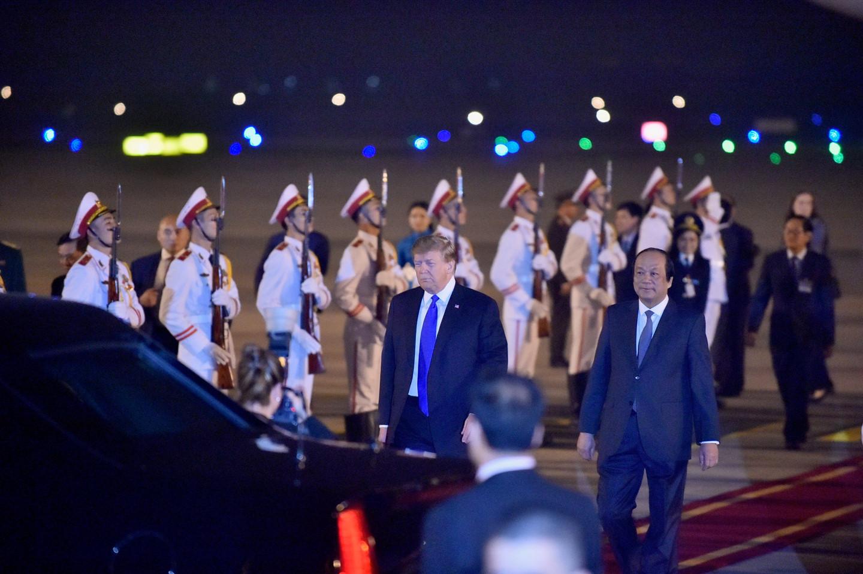 Trước đó, Ngoại trưởng Mỹ Mike Pompeo đã đến Hà Nội sáng 26/2, một ngày trước hội nghị thượng đỉnh lần hai giữa Tổng thống Mỹ Donald Trump và Chủ tịch Triều Tiên Kim Jong Un.