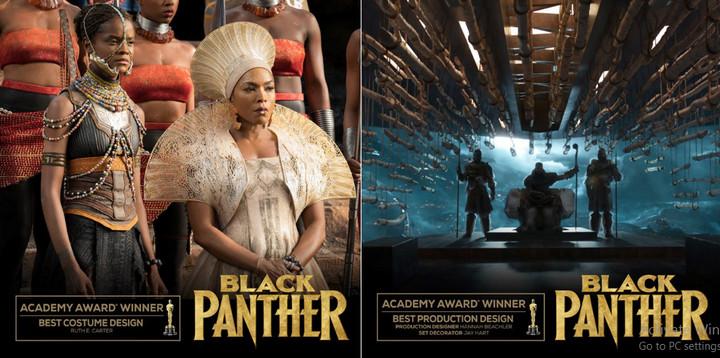 Black Panther làm nên lịch sử vào đêm chủ nhật 24/2 (giờ Mỹ) khi trở thành phim Marvel đầu tiên đoạt giải Oscar.