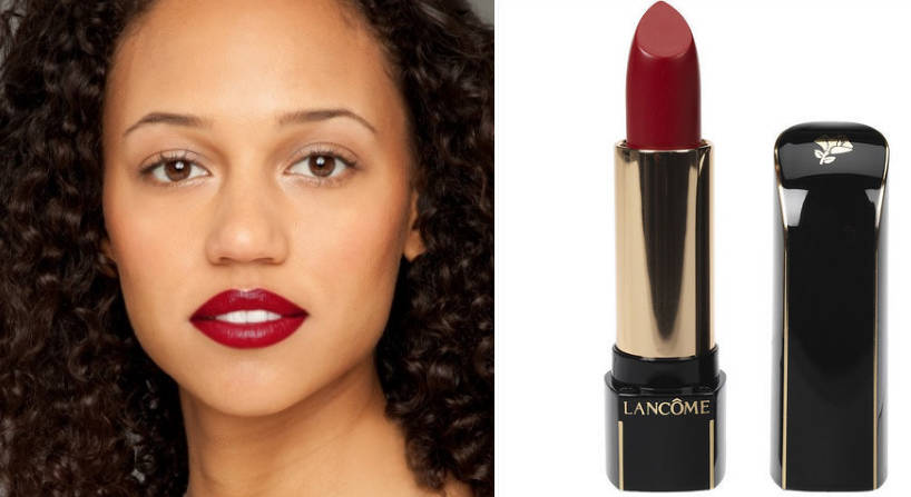   Son màu đỏ rượu của Lancome chỉ thích hợp với những bạn thích trang điểm đậm và kỹ.  