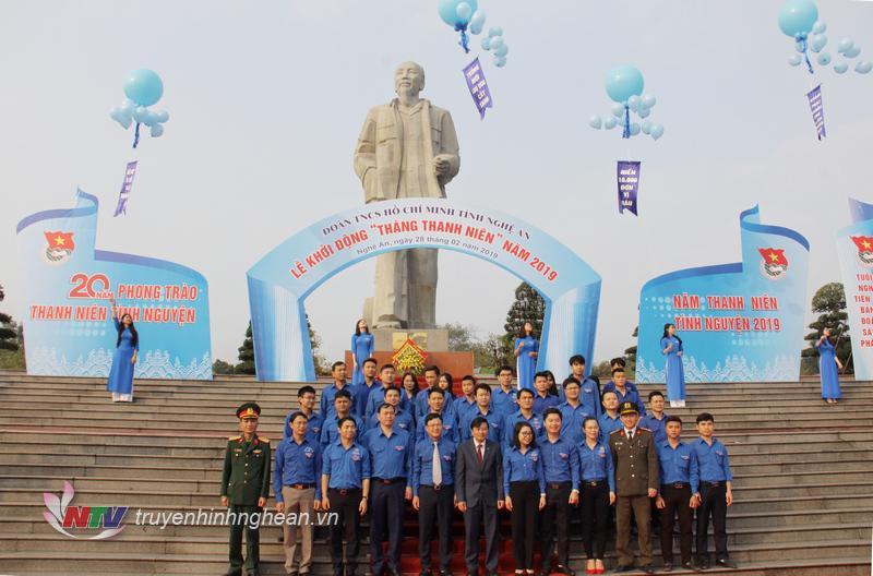 Thanh niên Nghệ An khởi động Tháng Thanh niên và Năm Thanh niên tình nguyện 2019.