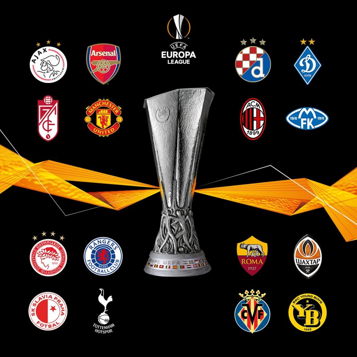 16 đội bóng giành vé vào vòng 1/8 Europa League 2020/2021.